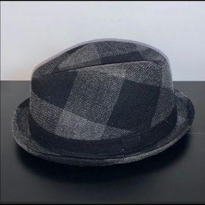 Urban Pipeline Black & Gray Unisex Fedora Hat